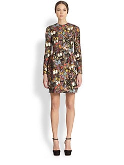 Valentino - Butterfly Print Bamboli Dress