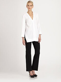 Jil Sander - Stretch Wool Straight-Leg Pants