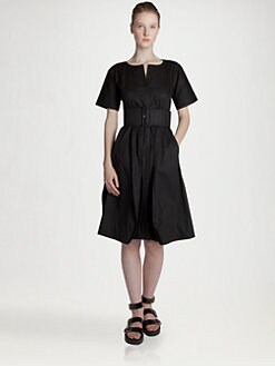 Jil Sander - Narcisco Belted Dress