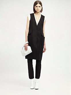 Jil Sander - V-Neck Dress