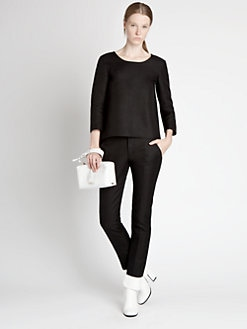 Jil Sander - Slit-Back Top