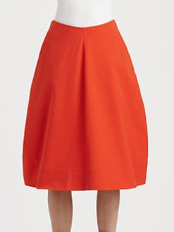 Jil Sander - Nebbia Tulip Skirt