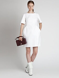 Jil Sander - Stretch Cotton Dress