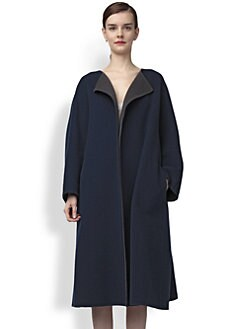 Jil Sander - Bi-Color Wool Coat