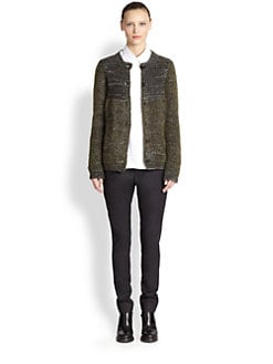Jil Sander - Tweed Boucl&eacute; Cardigan