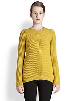 Jil Sander - Ribbed Wool & Cashmere Sweater