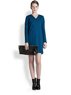 Jil Sander - Long-Sleeve Jersey Dress
