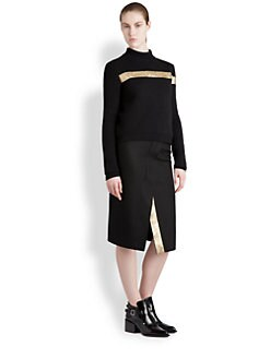 Jil Sander - Metallic Stripe Sweater