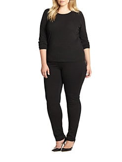 Eileen Fisher, Salon Z - Stretch Silk Jersey Top