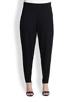 Eileen Fisher, Sizes 14-24 - Slouchy Jersey Pants