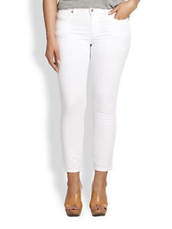 Eileen Fisher, Sizes 14-24 - Skinny Ankle Jeans