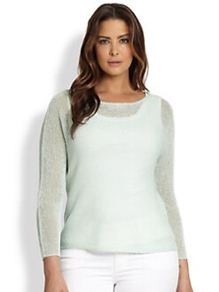 Eileen Fisher, Sizes 14-24 - Boxy Knit Top