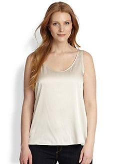 Eileen Fisher, Sizes 14-24 - Silk Tank
