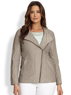 Eileen Fisher, Sizes 14-24 - Lightweight Jacket
