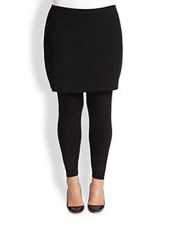 Eileen Fisher, Sizes 14-24 - Jersey Skirted Leggings