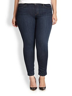 Eileen Fisher, Sizes 14-24 - Slim Ankle-Length Jeans