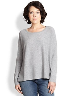 Eileen Fisher, Sizes 14-24 - Cashmere Boxy Sweater