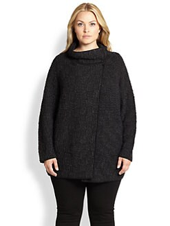 Eileen Fisher, Sizes 14-24 - Cocoon Knit Jacket