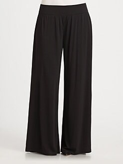 Eileen Fisher, Salon Z - Silk Wide-Leg Pants