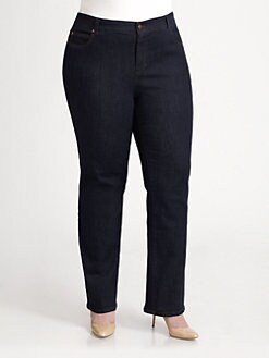Eileen Fisher, Salon Z - Straight-Leg Jeans