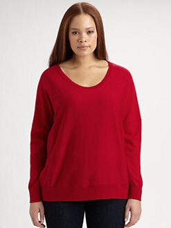 Eileen Fisher, Salon Z - Merino Wool Pullover Sweater