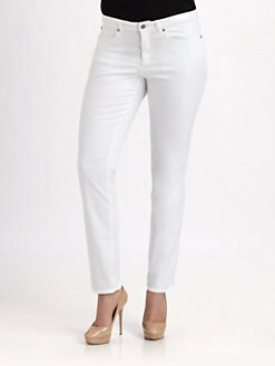 Eileen Fisher, Salon Z - Five-Pocket Lean Jeans