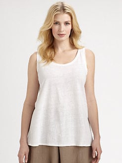 Eileen Fisher, Salon Z - Linen Jersey Tank Top