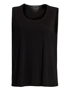 Eileen Fisher, Sizes 14-24 - Silk Tank Top