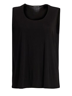 Eileen Fisher, Salon Z - Silk Tank Top