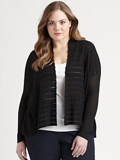 Eileen Fisher, Salon Z - Melange Boxy Cardigan