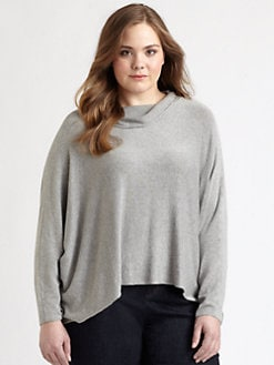 Eileen Fisher, Salon Z - Boxy Hi-Lo Top