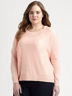 Eileen Fisher, Salon Z - Lightweight Linen Sweater
