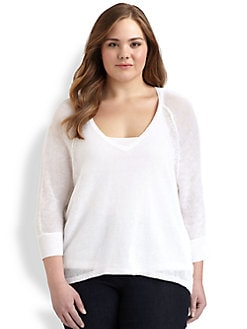 Eileen Fisher, Salon Z - Linen Sweater