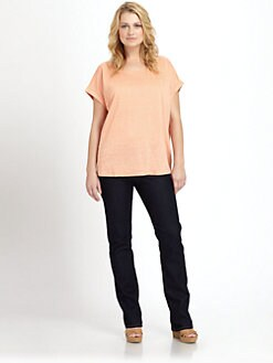 Eileen Fisher, Salon Z - Linen Boxy Top