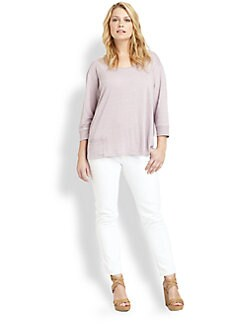 Eileen Fisher, Salon Z - Linen Pullover Top