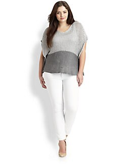 Eileen Fisher, Salon Z - Open-Twist Top