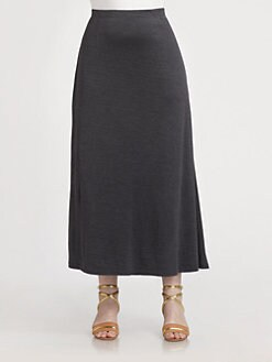 Eileen Fisher, Salon Z - Silk/Cotton Flutter Skirt