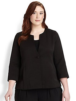 Eileen Fisher, Salon Z - Ribbed Jacket