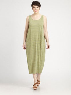 Eileen Fisher, Salon Z - Striped Linen Dress