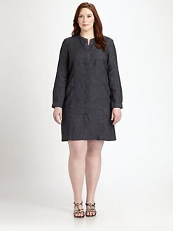 Eileen Fisher, Salon Z - Linen Shirtdress