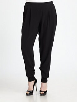Eileen Fisher, Salon Z - Silk Ankle Pants