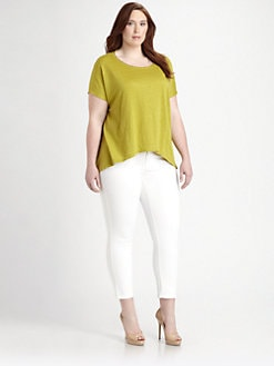 Eileen Fisher, Salon Z - Linen Boxy Tee