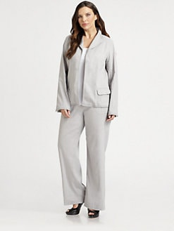 Eileen Fisher, Salon Z - Cinched-Waist Jacket