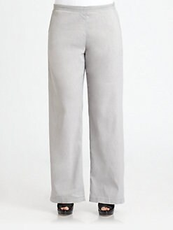 Eileen Fisher, Salon Z - Straight-Leg Pants