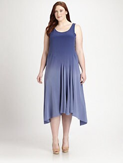 Eileen Fisher, Salon Z - Silk Ombre Maxi Dress