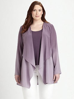 Eileen Fisher, Salon Z - Silk Ombre Jacket