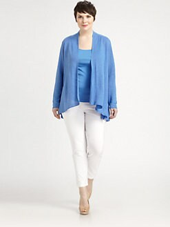 Eileen Fisher, Salon Z - Linen Flutter Cardigan