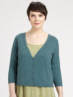 Eileen Fisher, Salon Z - Organic Cotton/Cashmere Cardigan