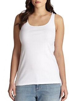 Eileen Fisher, Salon Z - Organic Cotton Tank Top