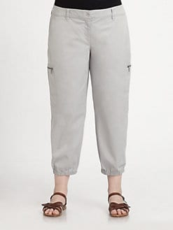 Eileen Fisher, Salon Z - Cropped Cargo Pants